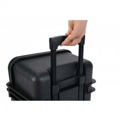 High strength cabin trolley suitcase, IP67, with wheels, A473321