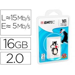 Memoria usb emtec flash 16 gb usb 2.0 sylvester