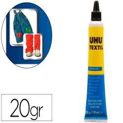 Pegamento uhu especial textil tubo 20 gr en blister