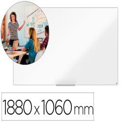 "Pizarra blanca nobo ip pro 85"" acero vitrificado magnetico 1880x1060 mm"