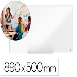 """Pizarra blanca nobo ip pro 40"""" lacada magnetica 890x500 mm"""