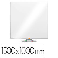 Pizarra blanca nobo nano clean ip pro lacada magnetica 1500x1000 mm