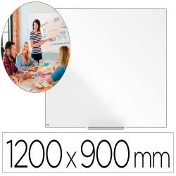 Pizarra blanca nobo ip pro acero vitrificado magnetico 1200x900 mm