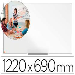 "Pizarra blanca nobo ip pro 55"" acero vitrificado magnetico 1220x690 mm"