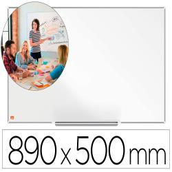 "Pizarra blanca nobo ip pro 40"" acero vitrificado magnetico 890x500 mm"