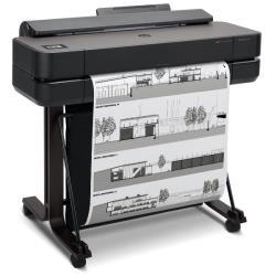 Impresora hp designjet t650 24 pulgadas base integrada 2400x1200 ppp tinta color 26 ppm 1gb din a1