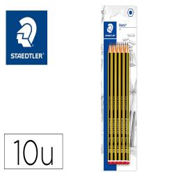 Lapices de grafito staedtler noris n 2 hb blister de 10 unidades