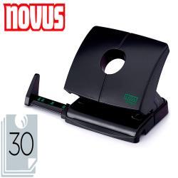 Taladrador novus b230 plastico abs reciclado capacidad 30 hojas color negro