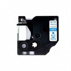 Compatible DYMO D1 45014 AZUL BLANCO CINTA ROTULADORA S0720540