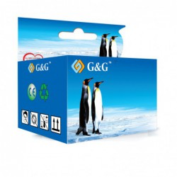 Compatible G&G HP 655 CYAN CARTUCHO DE TINTA CZ110AE 14.6 ml