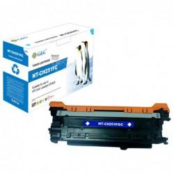 Compatible G&G HP CE251A CYAN CARTUCHO DE TONER Nº504A 7.000
