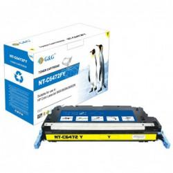 Compatible G&G HP Q6472A AMARILLO CARTUCHO DE TONER Nº502A