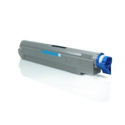 OKI C9600 C9650 C9800 C9850 CYAN CARTUCHO DE TONER COMPATIBLE