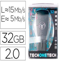Memoria usb tech on tech llave mercedes 32 gb