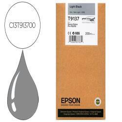 Ink-jet epson t9137 light negro ink 200ml