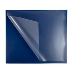 Vade sobremesa exacompta clean safe polipropileno azul 59x39 cm