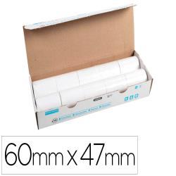 Rollo sumadora exacompta termico 60 mm x 47 mm 55 g/m2