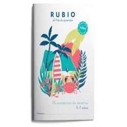 Mi cuaderno de verano rubio 6-7 años