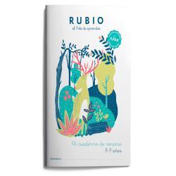Mi cuaderno de verano rubio 8-9 años