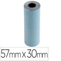 Rollo sumadora exacompta safe contact termico 57 mm x 30 mm 52 g/m2