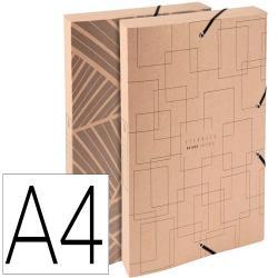 Carpeta de proyecto exacompta eterneco carton ecologico din a4 lomo 40 mm