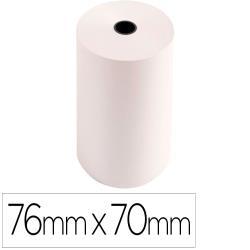Rollo sumadora exacompta electro offset 76 mm x 70 mm 60 g/m2