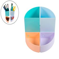 Cubilete portalapices exacompta aquarel the quarter modulable colores pastel
