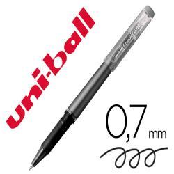 Rotulador uni-ball roller uf-222 tinta gel borrable 0,7 mm negro