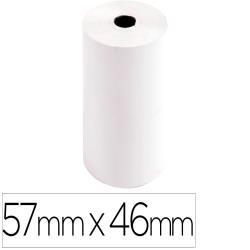 Rollo sumadora exacompta safe contact termico 57 mm x 46 mm 55 g/m2
