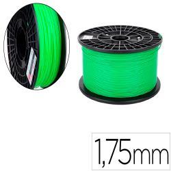 Filamento 3d colido pla luminoso 1,75 mm 1 kg verde
