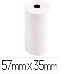 Rollo sumadora exacompta safe contact termico 57 mm x 35 mm 44 g/m2