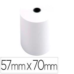 Rollo sumadora exacompta electro offset 57 mm x 70 mm 60 g/m2