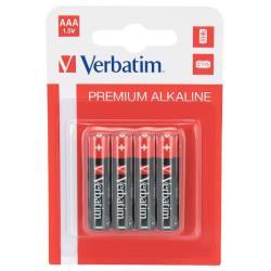 Verbatim 49920 PILA ALCALINA AAA PK4