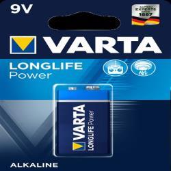 Varta 4922121411 LONGLIFE POWER 9V BLI 1