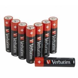 Verbatim 49502 ALKALINE BATTERY AAA 8 PACK