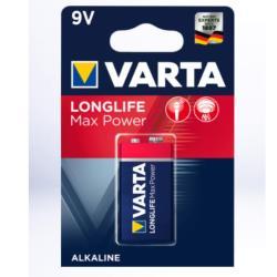 Varta 4722101401 LONGLIFE MAX POWER 9V BLI 1