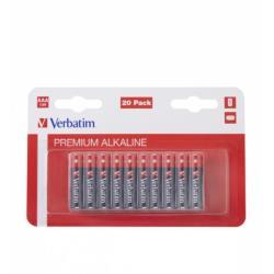 Verbatim 49876 ALKALINE BATTERY AAA 20 PACK