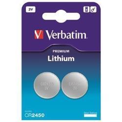 Verbatim 49938 PILA CR2450 3V LITIO 2 PACK