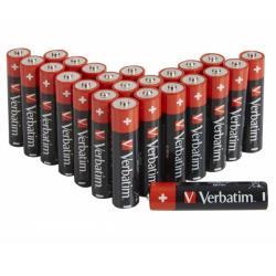 Verbatim 49505 ALKALINE BATTERY AA 24 PACK (BOX)