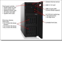 Lenovo 7Y45A049EA THINKSYSTEM ST250 E-2276G 16GB