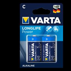 Varta 4914121412 LONGLIFE POWER C BLI 2