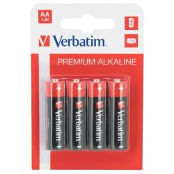 Verbatim 49921 PILA ALCALINA AA PK4