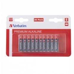 Verbatim 49877 ALKALINE BATTERY AA 20 PACK