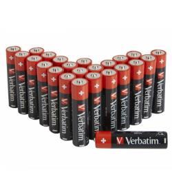 Verbatim 49504 ALKALINE BATTERY AAA 24 PACK (BOX)