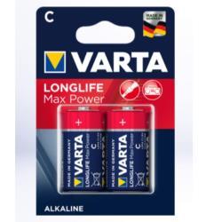 Varta 4714101402 LONGLIFE MAX POWER C BLI 2