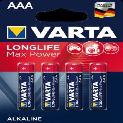 Varta 4703101404 LONGLIFE MAX POWER AAA BLI 4
