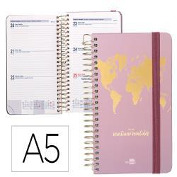 Agenda escolar liderpapel curso 21-22 college classic the world