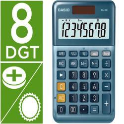 Calculadora casio ms-80e sobremesa 8 digitos tx +/- tecla doble