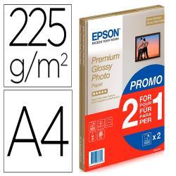 Papel fotografico epson premiun glossy photo satinado din a4
