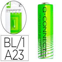 Pila q-connect alcalina ag23 6lr23 12v blister de 1 unidad